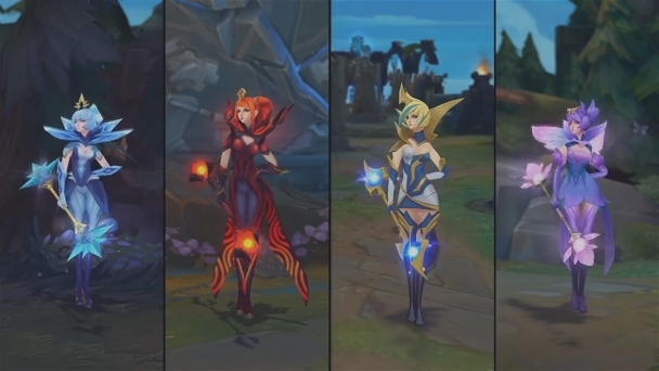 Elementalist Lux: 10 Skins in 30 Megabytes | Riot Games Engineering