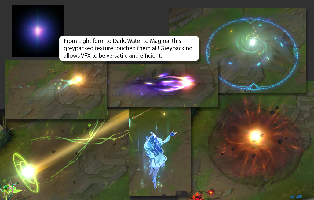 Elementalist Lux: 10 Skins in 30 Megabytes | Riot Games